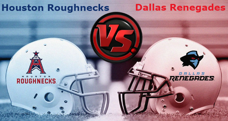 Houston Roughnecks vs. Dallas Renegades XFL Pick, Prediction & Preview
